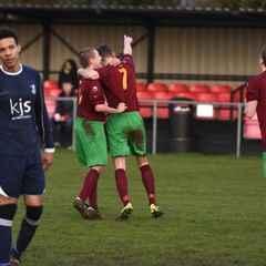 Match Report: Holyport 6 v 0 Woodley United