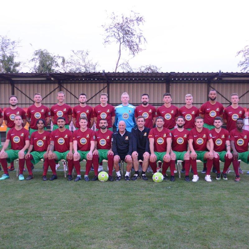First Team beat Wallingford Town 2 - 0