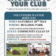 Bulldogs give back!!