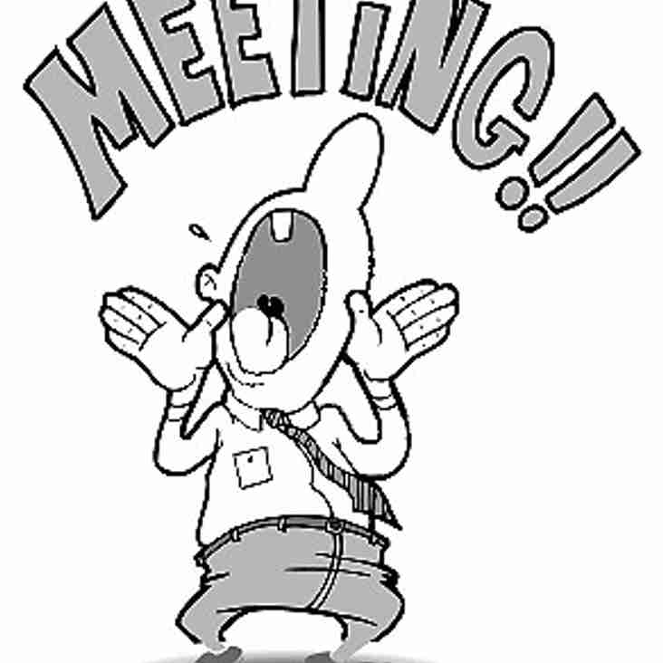 AGM meeting @ club Sunday 29th May 3:00pm