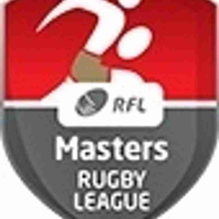 Masters  team training starts Monday 13th June