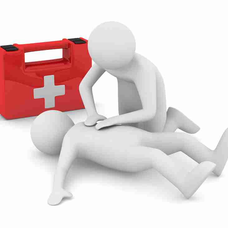 Names for First aid courses 7th Jan & 14th Jan