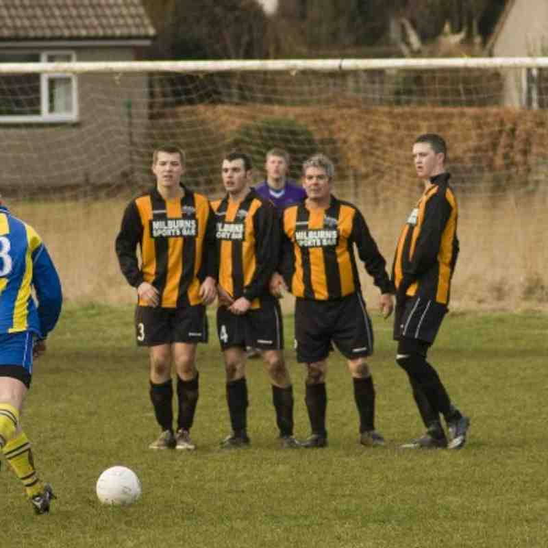 Alnmouth United v Bamburgh Castle 13 2 2010