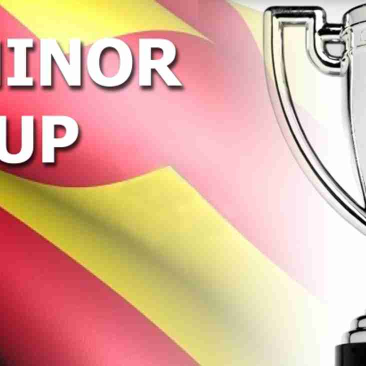 Minor Cup - Round Three Fixtures