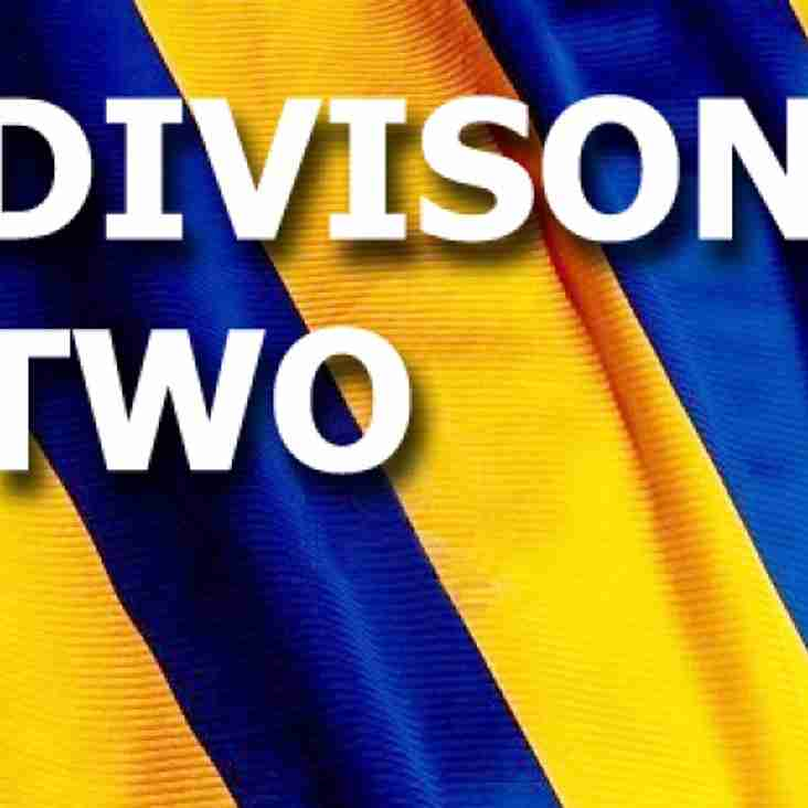Division 2 - Weekend Round Up