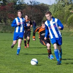 Alnmouth United v Tweedmouth Rangers 29 9 2012