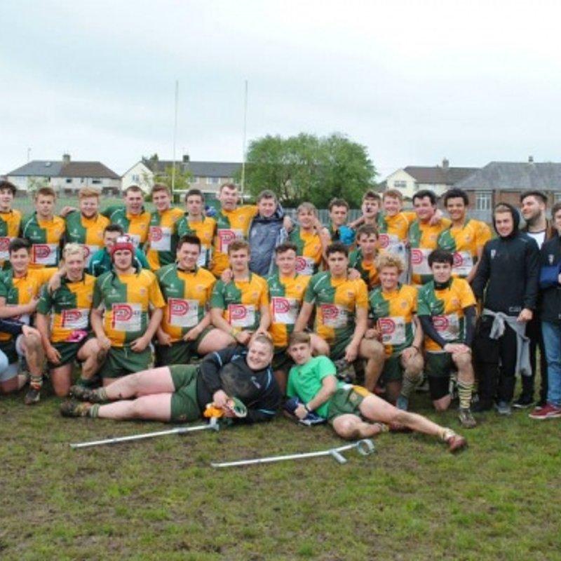 Youth XV lose to Newbridge 59 - 17