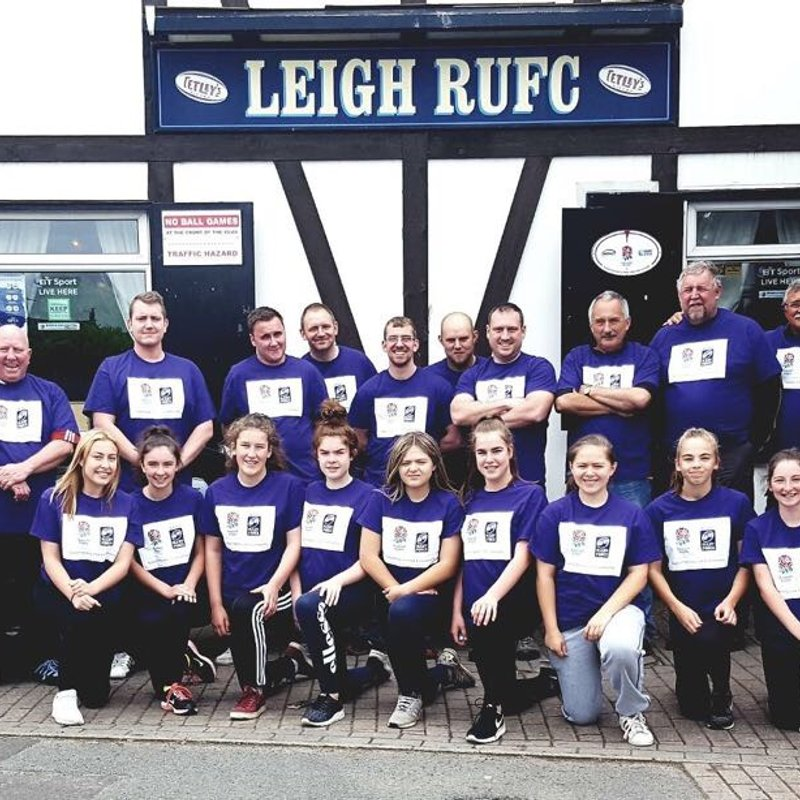 RugbyForce at Leigh RUFC 24-25th June 2017.