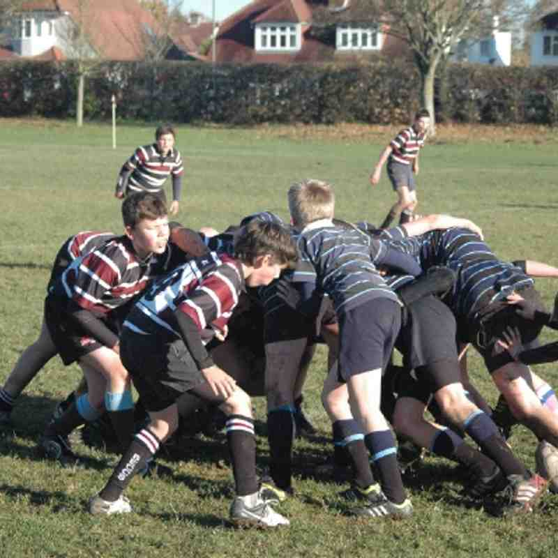 U13s vs Old Alleynians 18/11/12