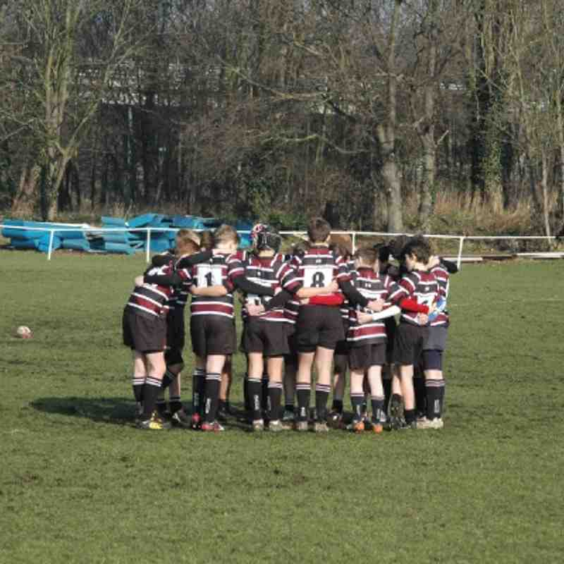 U13s vs Dartfordians 17/02/13