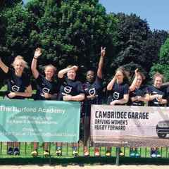 Divas Host Burford Academy Rugby Camp