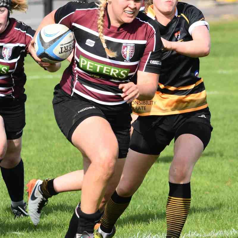 Ladies vs Canterbury 24/09/17
