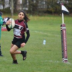 U18 Girls vs Sevenoaks 6/11/17