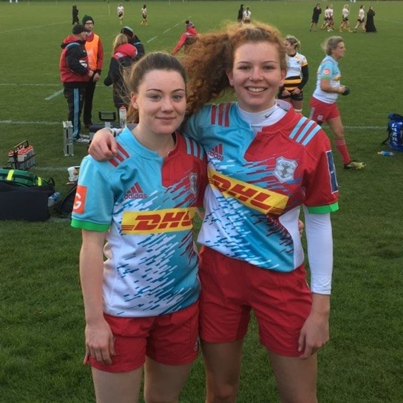 Beccehamian girls become full time members of the Quins ladies squad.