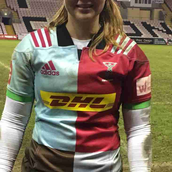 Becss flyhalf signs for Harlequins Ladies