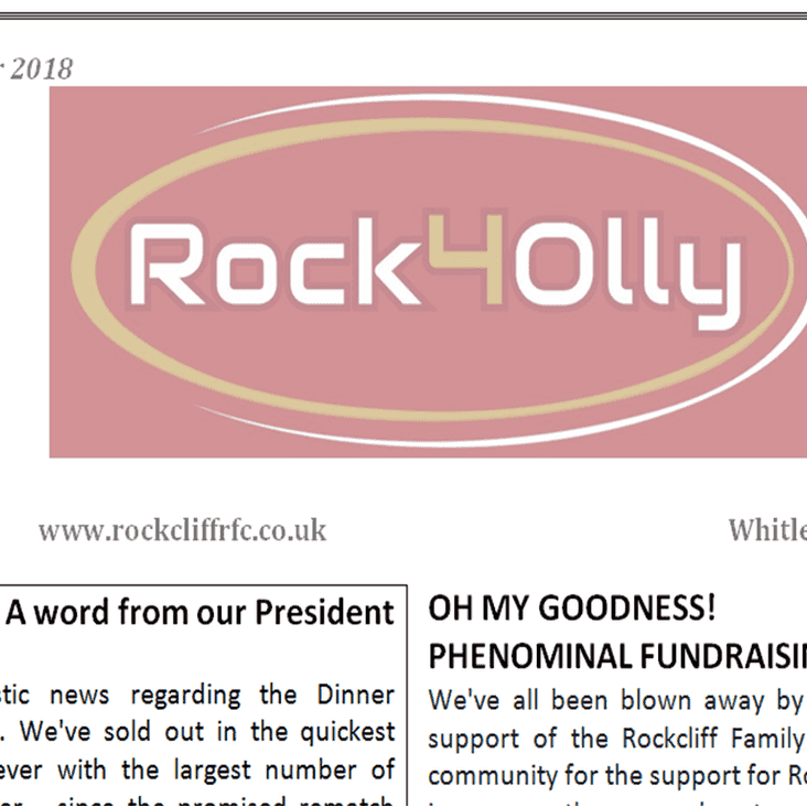 Rock4Olly October 2018