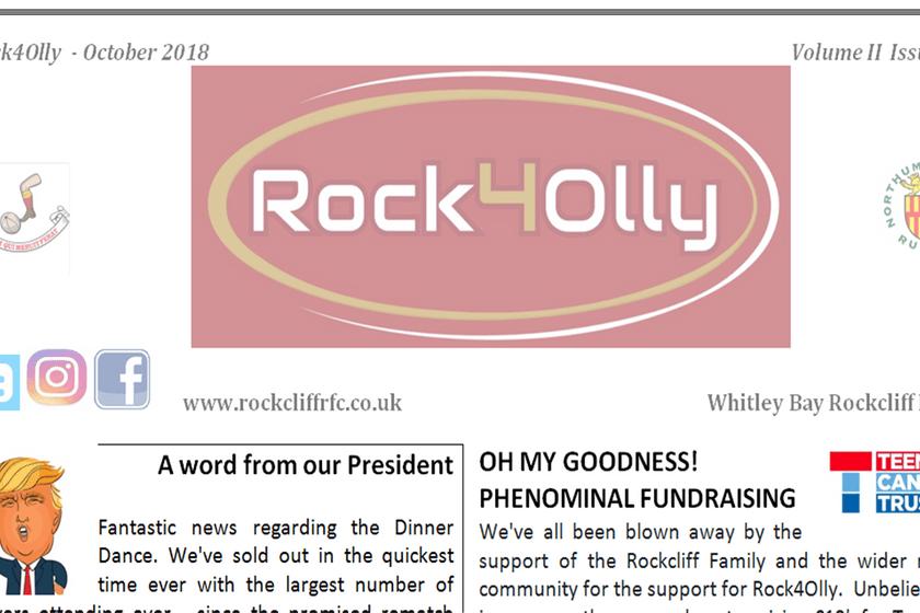 Rock4Olly October 2018