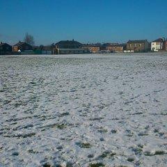 snowy scene in January