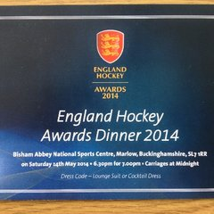England Hockey Awards Dinner 2014