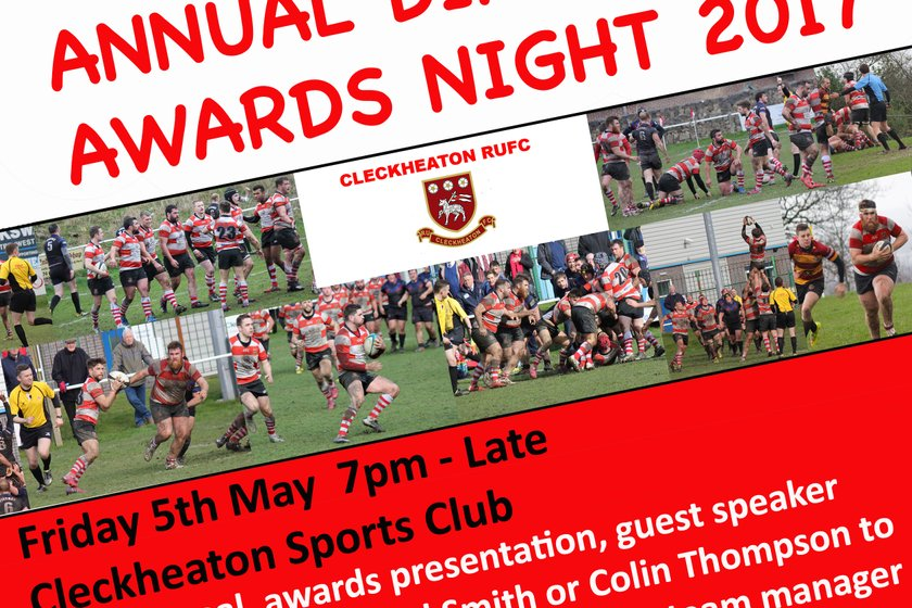 Annual Dinner - Club Open Now!!