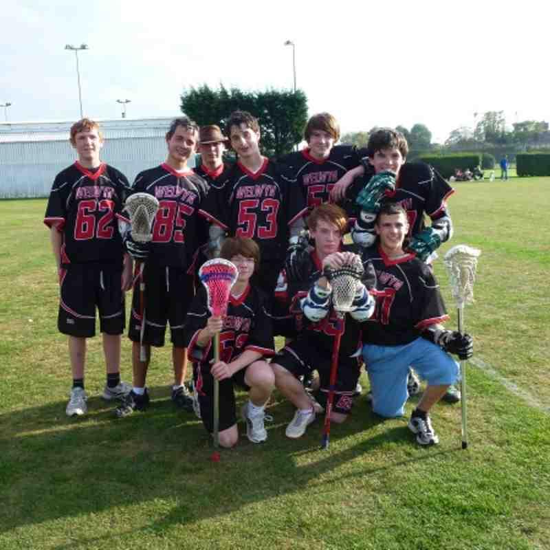 Holder trophy 2011- Welwyn U16