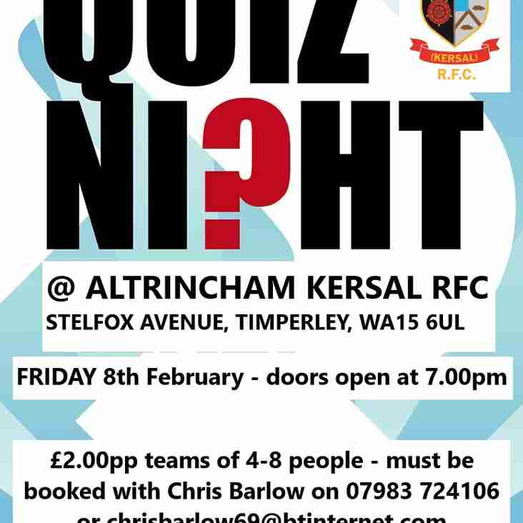 AK Quiz Night