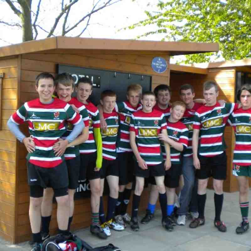 Aston's Juniors at the FiveWays 10s Tournament