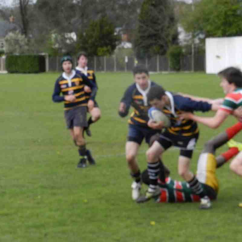 AOE U16 vs FiveWays 22/4/12