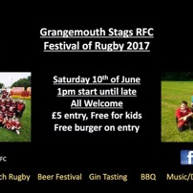 10th June Rugby Festival