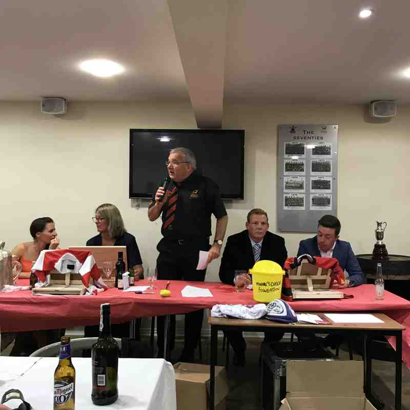 Club Dinner 20 Oct 2018