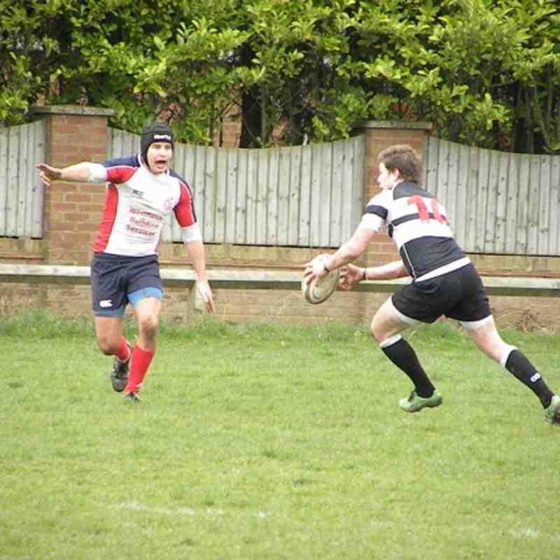 1st's v Percy Park