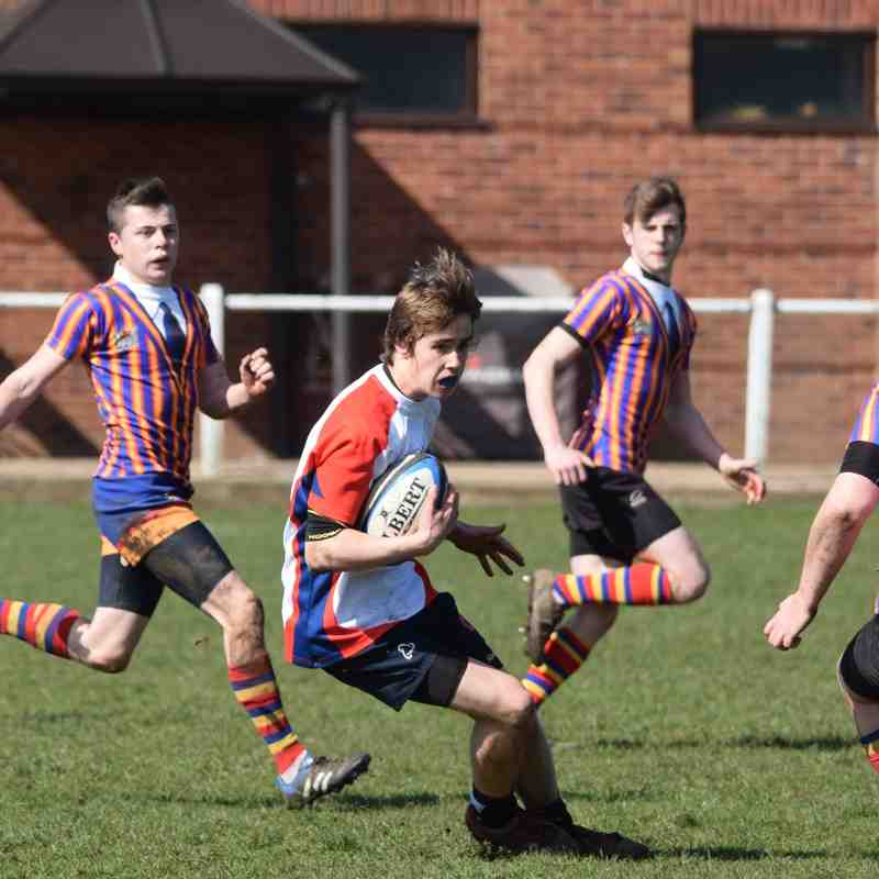 Northern U17's v Old Halesonians U17's