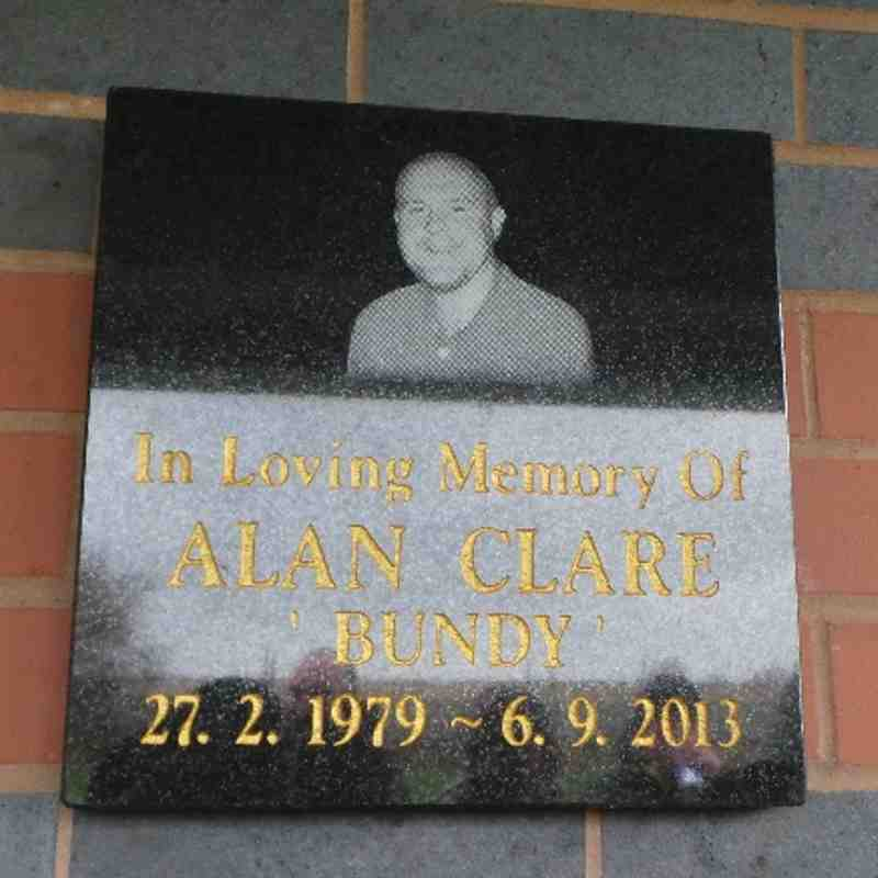 Alan 'Bundy' Clare Memorial Day