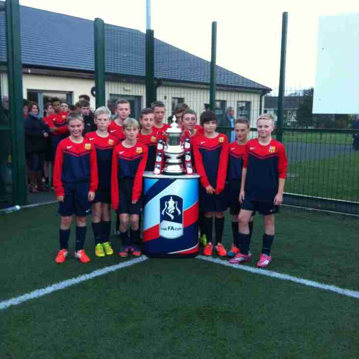 FA CUP AT LONGHOUGHTON