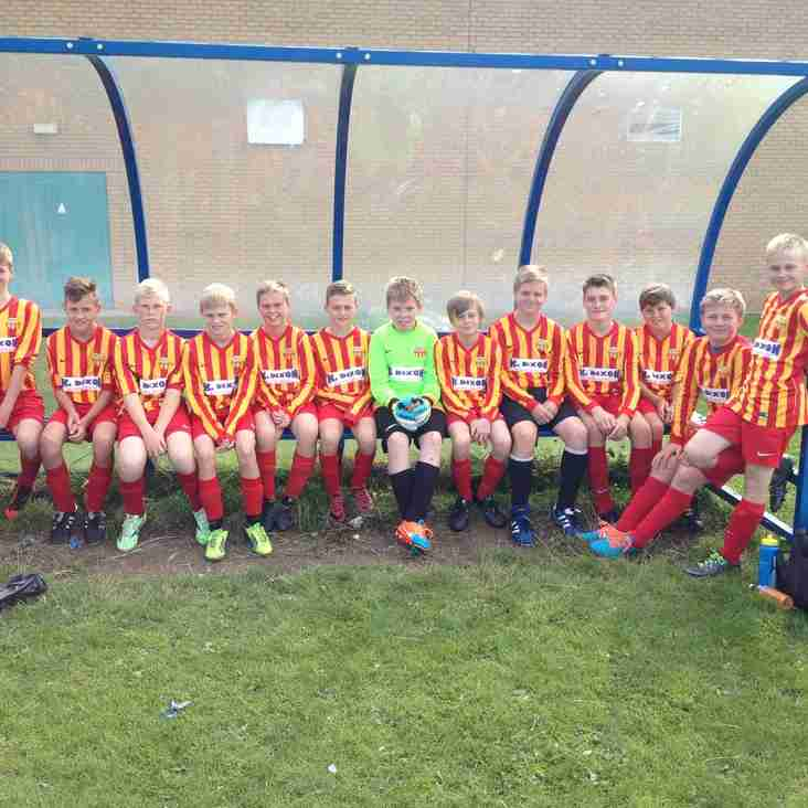 U14s Compete at Pinpoint Tournament on Sunday 30th August