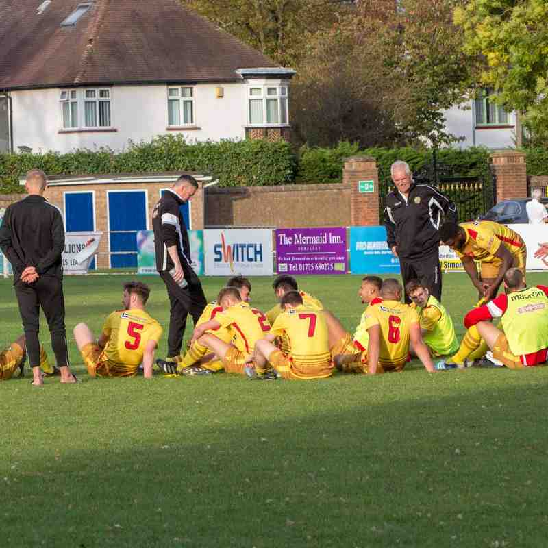 Spalding Utd. FC (away) FA Trophy 14/10/2018
