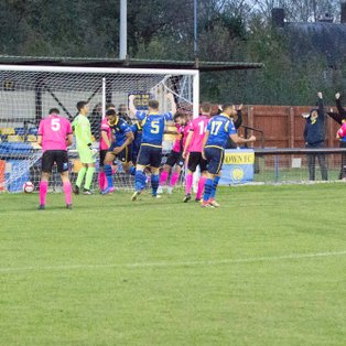 CARLTON TOWN 1-2 PICKERING TOWN - MATCH REPORT