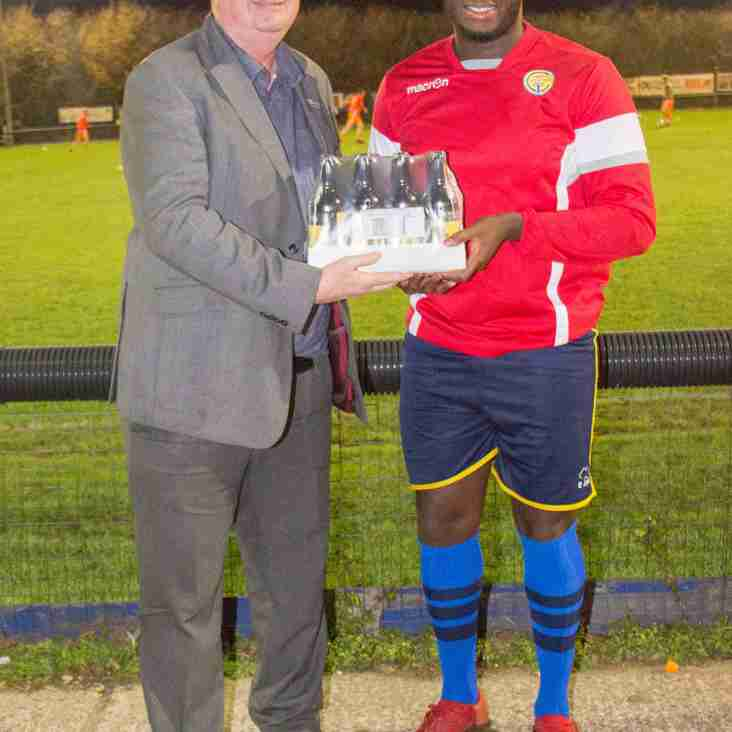 OPOKU OCTOBER PLAYER OF THE MONTH