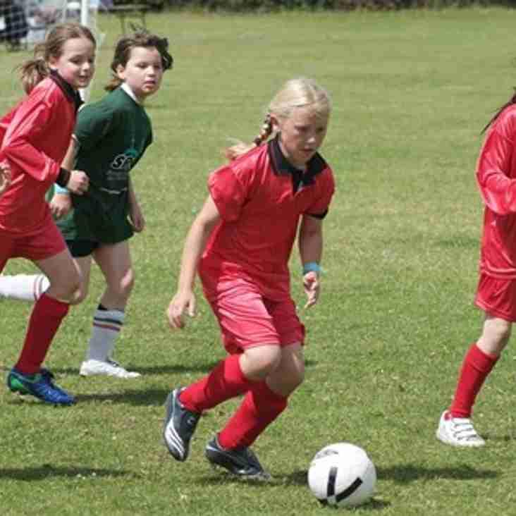 Bedfont Eagles Soccer School for Girls for ages 7 – 11