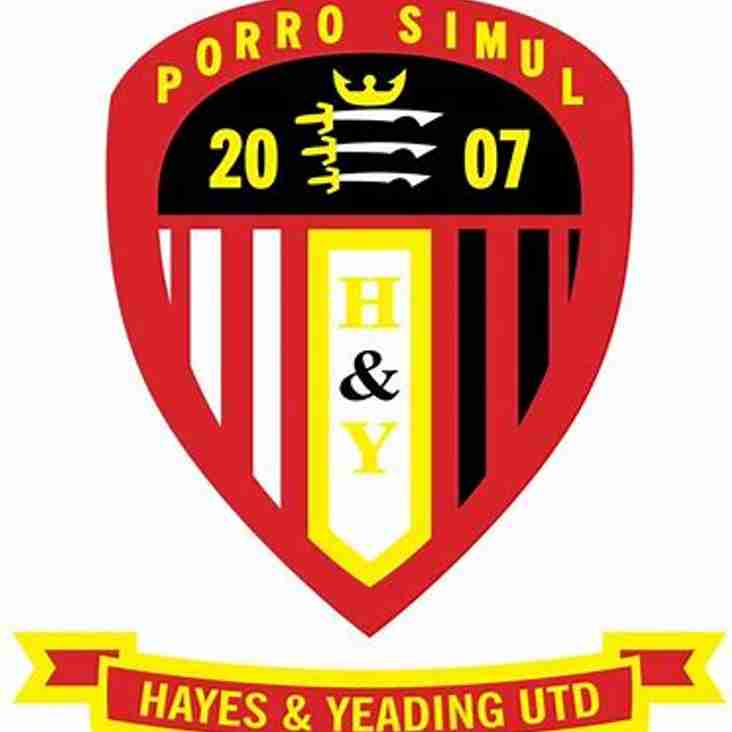 SPORTS WELCOME HAYES & YEADING