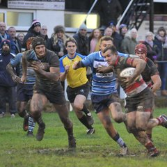Lydney 21 Newbury Blues 23