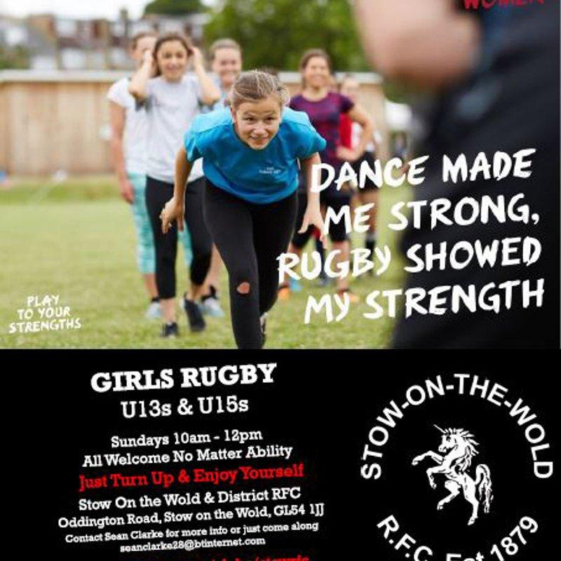 Girls Rugby On Sundays