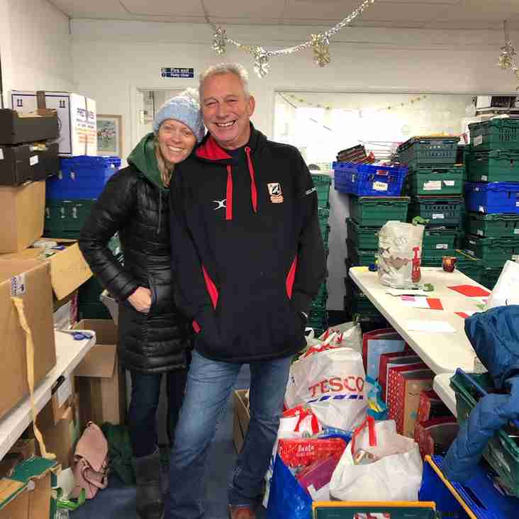 Epping Forest Foodbank Delivery.  80 kgs of Food and Christmas goodies delivered today