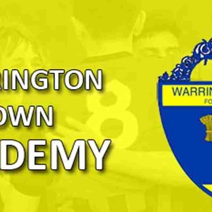 Looking to join Warrington Town's Academy?