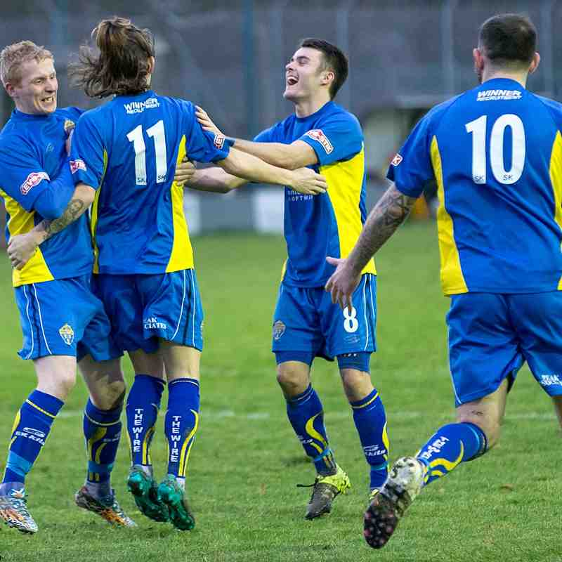 New Mills 0 Warrington Town 5