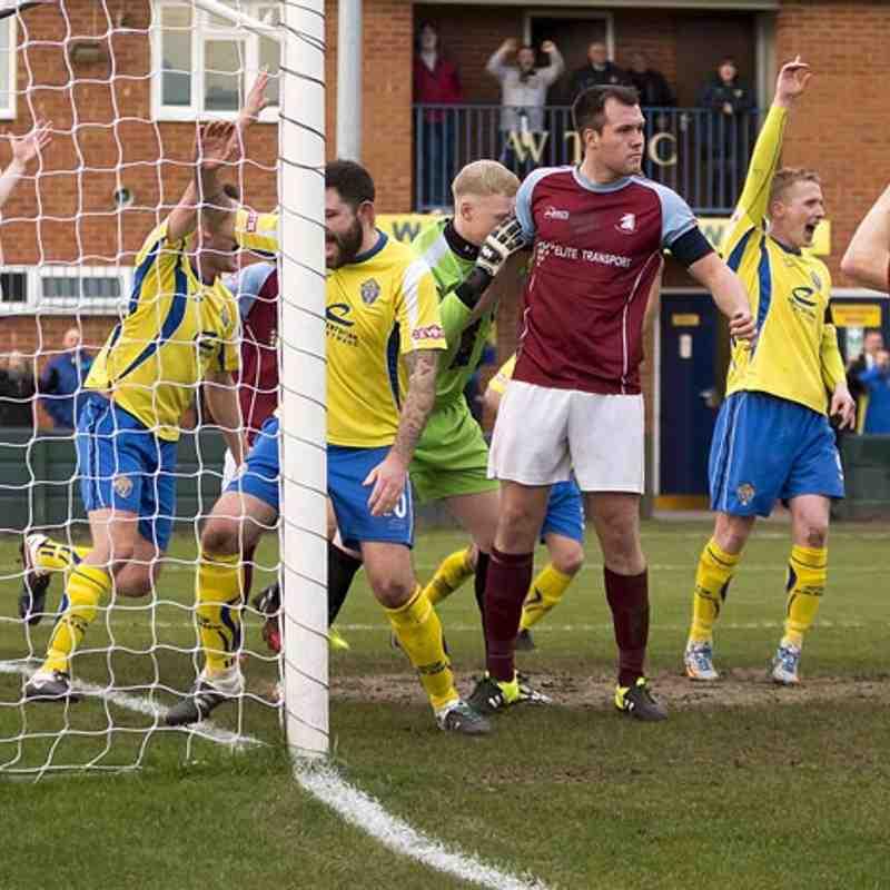 Warrington Town 1 Ossett Albion 0
