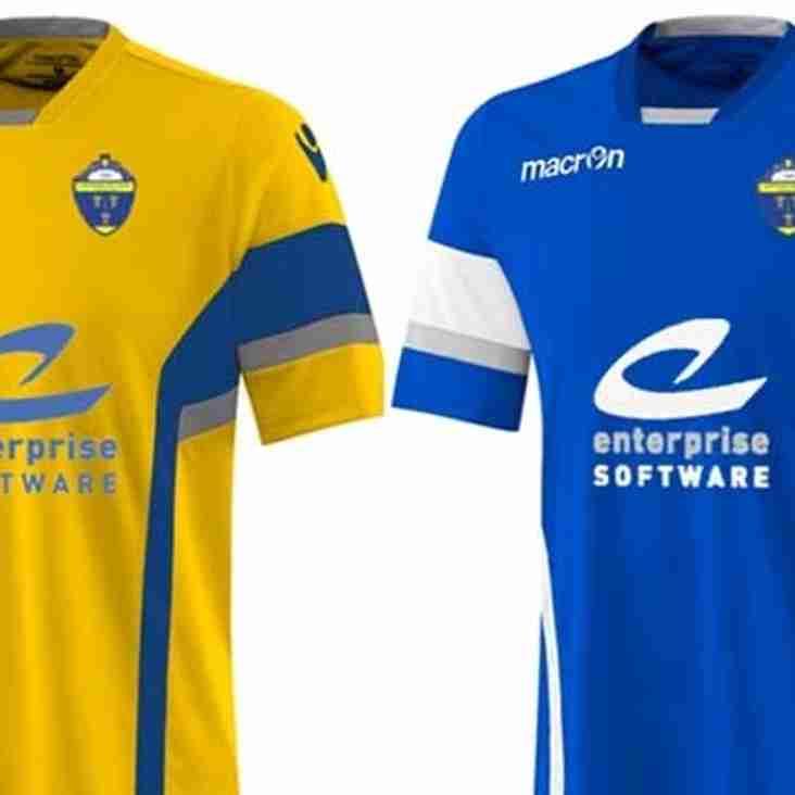 Warrington Town announce new kit partnership