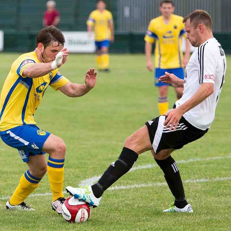 Warrington Town v Stourbridge
