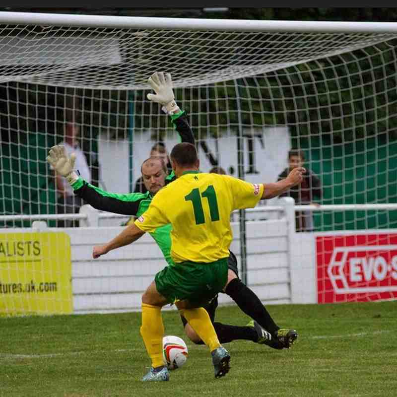 1st Team v Godalming Town - 11th August 2015