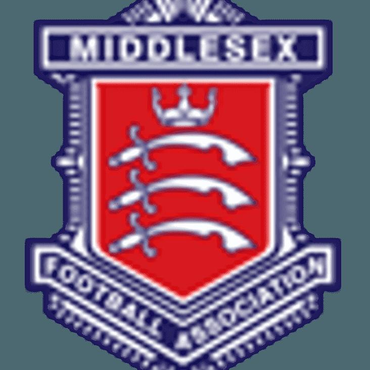MCFA U18'S TEAM SELECTION VS KENT FA U18'S